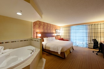 Canton guest room with whirlpool