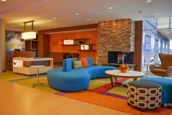 Fairfield Inn & Suites Canton South Lobby