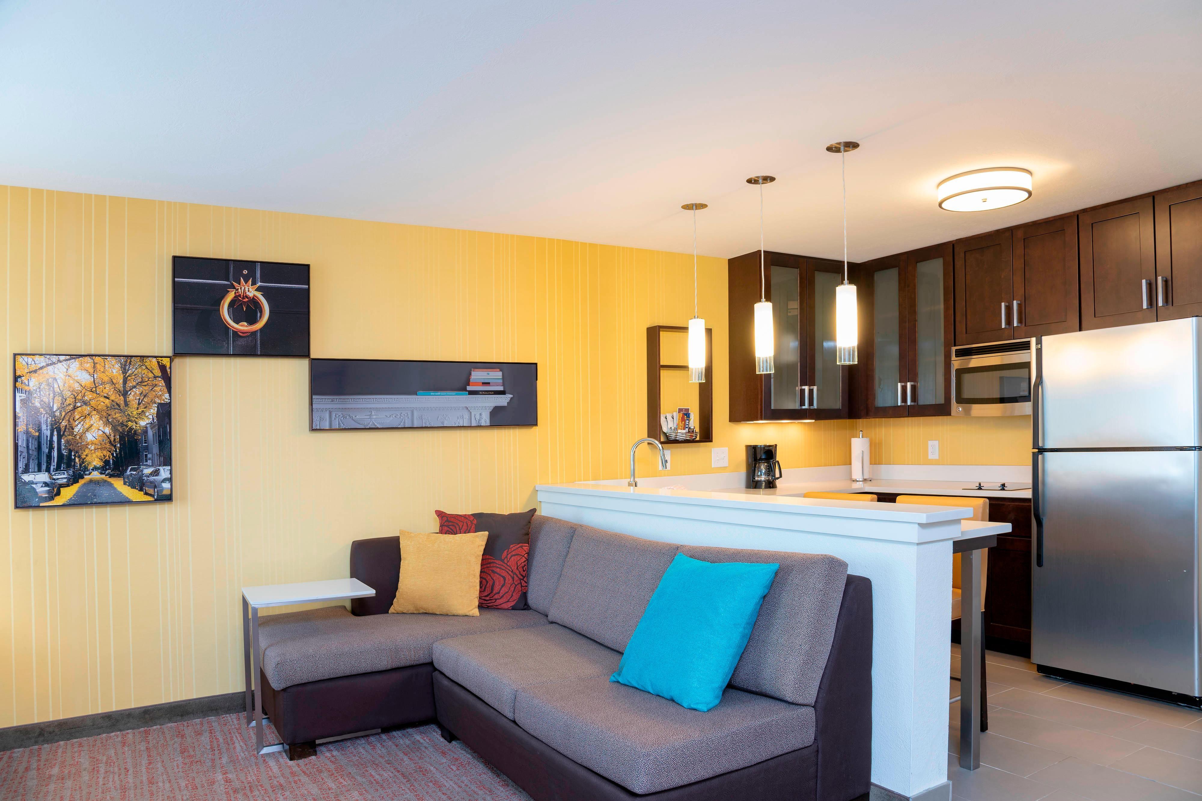 One-Bedroom Sutie - Living Area