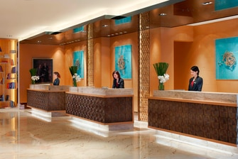 Front Desk at Guangzhou Hotel