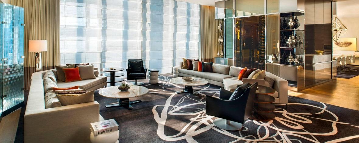 Zimmer der Extreme Wow Suite
