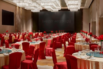 The Grand Ballroom Wedding Reception