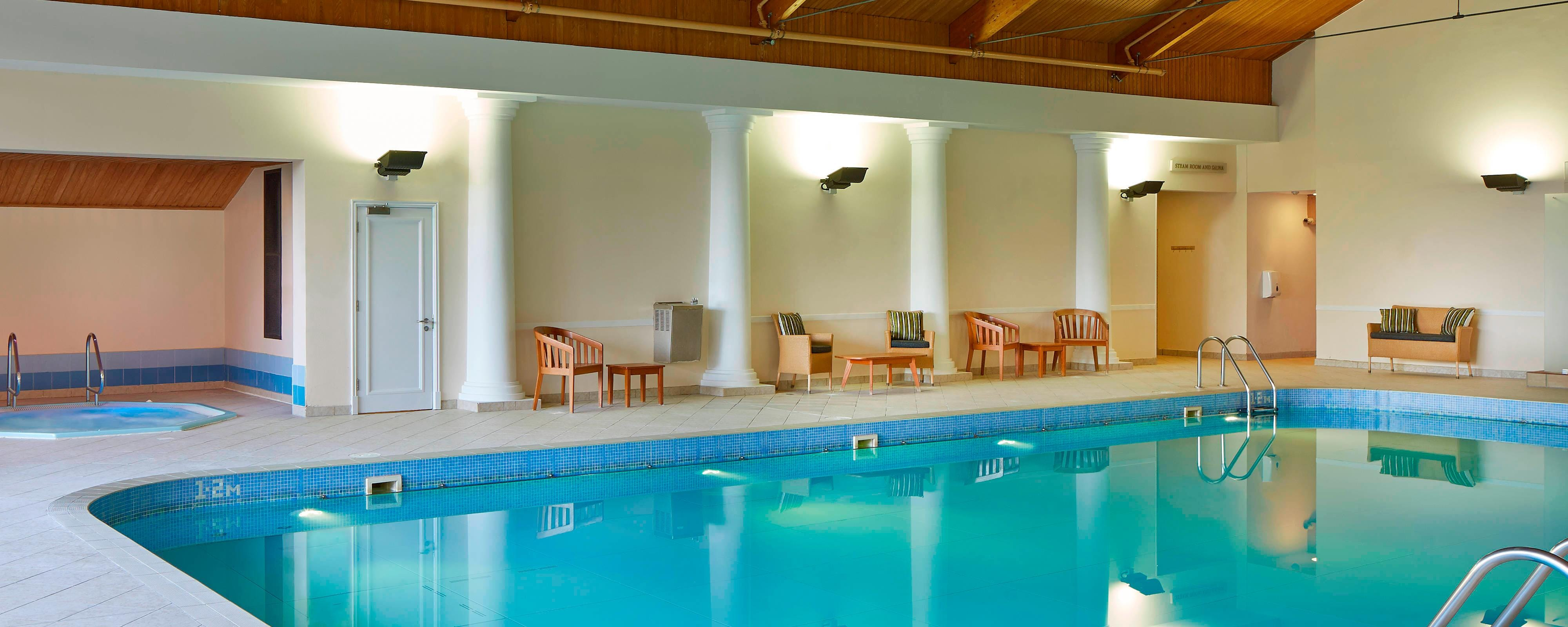 Indoor Pool Huntingdon Marriott
