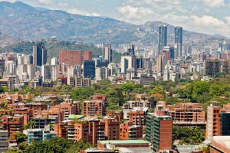Caracas View from the Renaissance