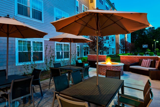 Mt Olive Hotel Patio