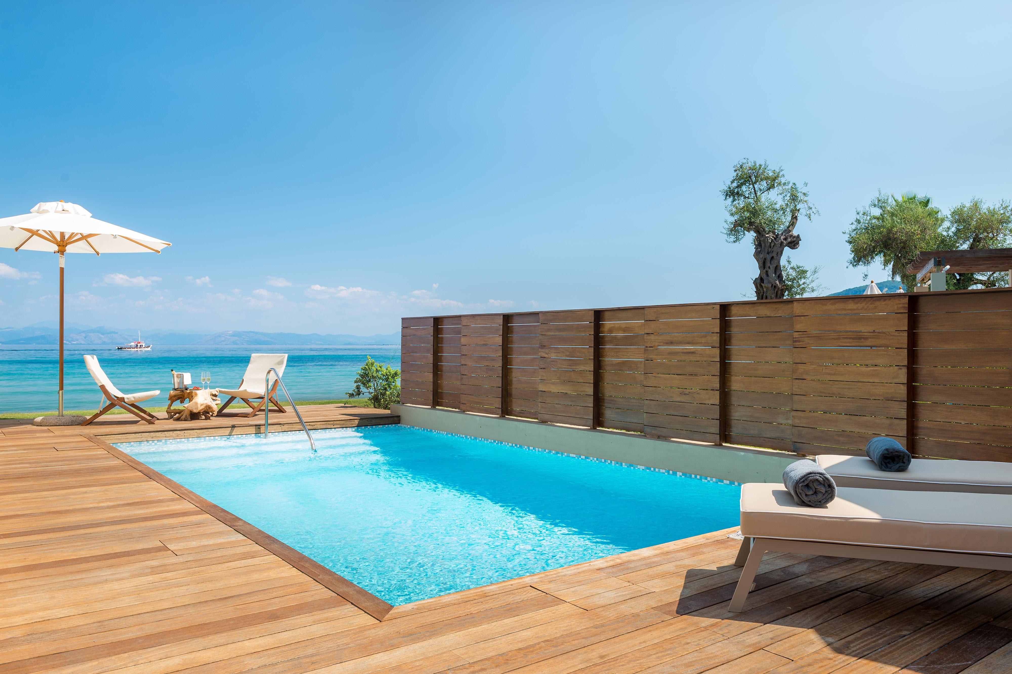 Pavilion Suite – Terrasse am Wasser