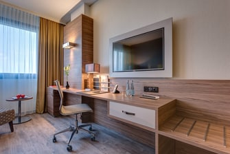 Bonn Marriott World Conference Hotel – Executive Zimmer