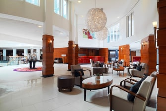 Hall du Cologne Marriott Hotel