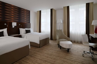 Cologne hotel featuring twin beds