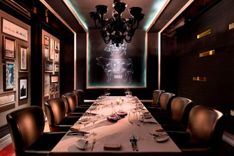 Private Dining Room in The Grill