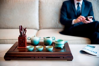 Chinese Tea in The Lounge