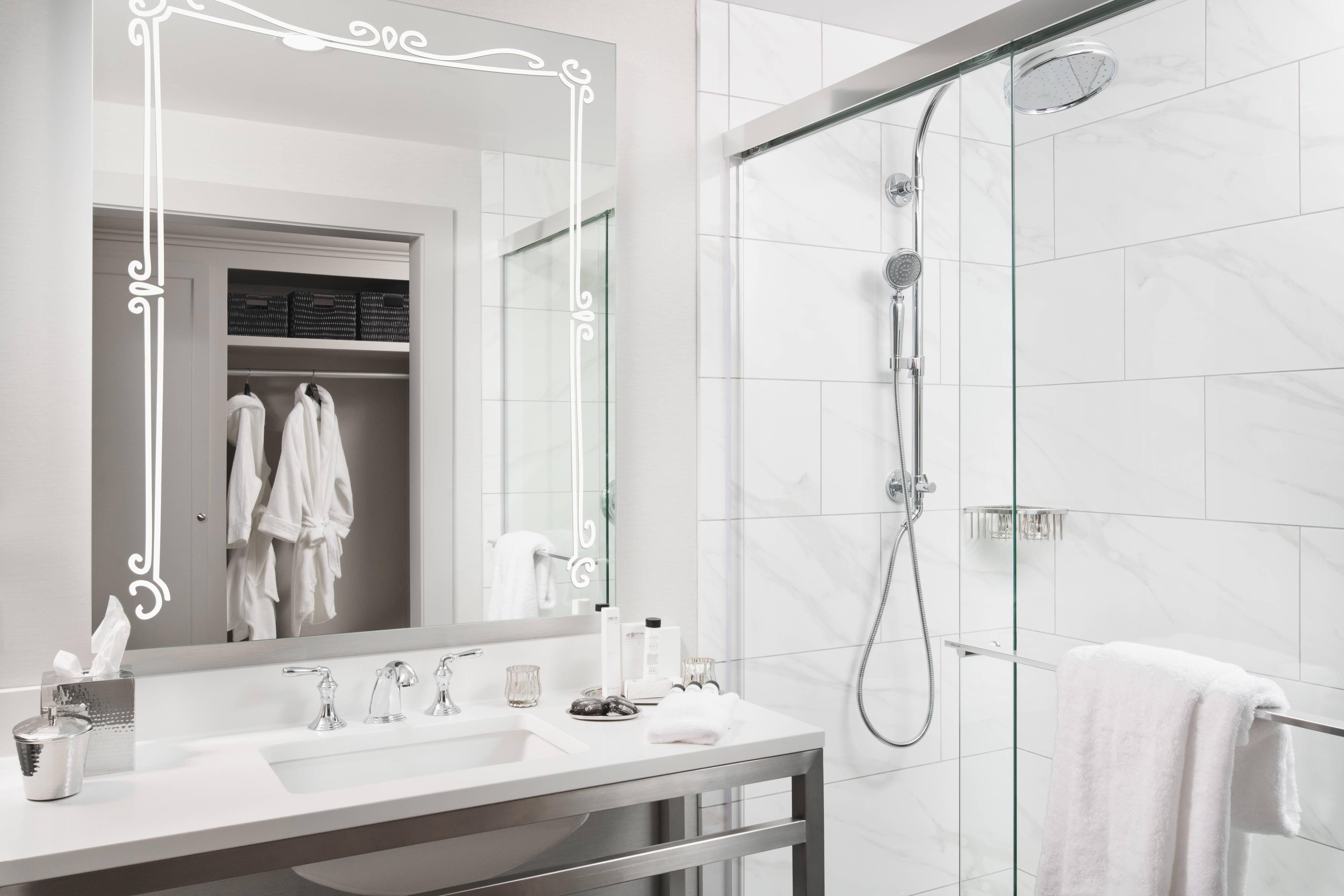 Gästebad – Dusche