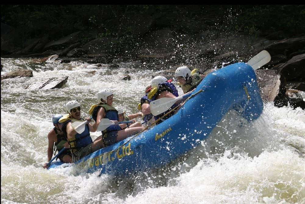 Ocoee River Whitewater Rafting