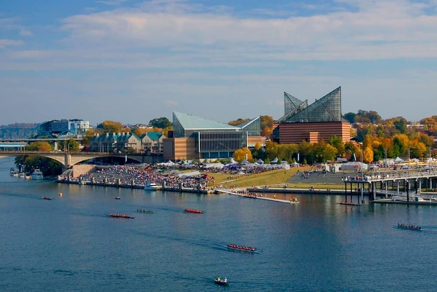 Chattanooga riverfront hotels