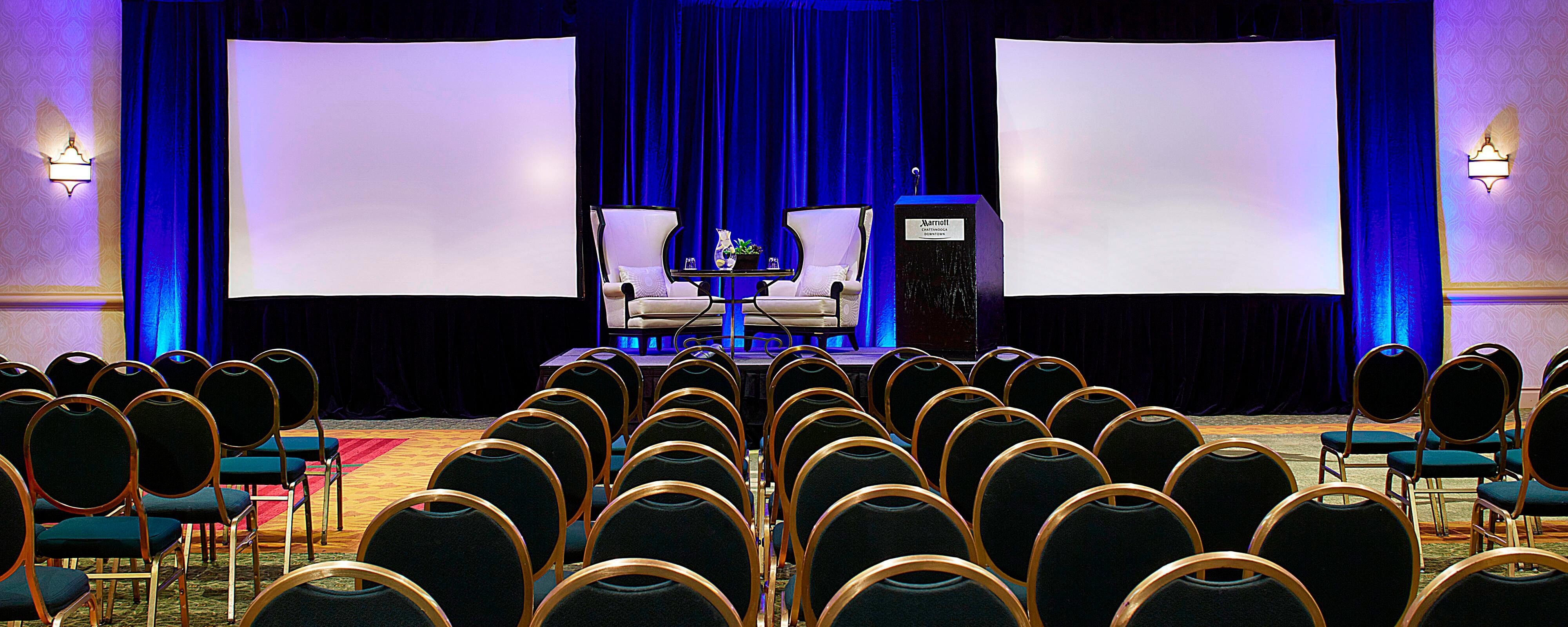 Hotel Meeting Rooms Near Convention Center Chattanooga Marriott Downtown