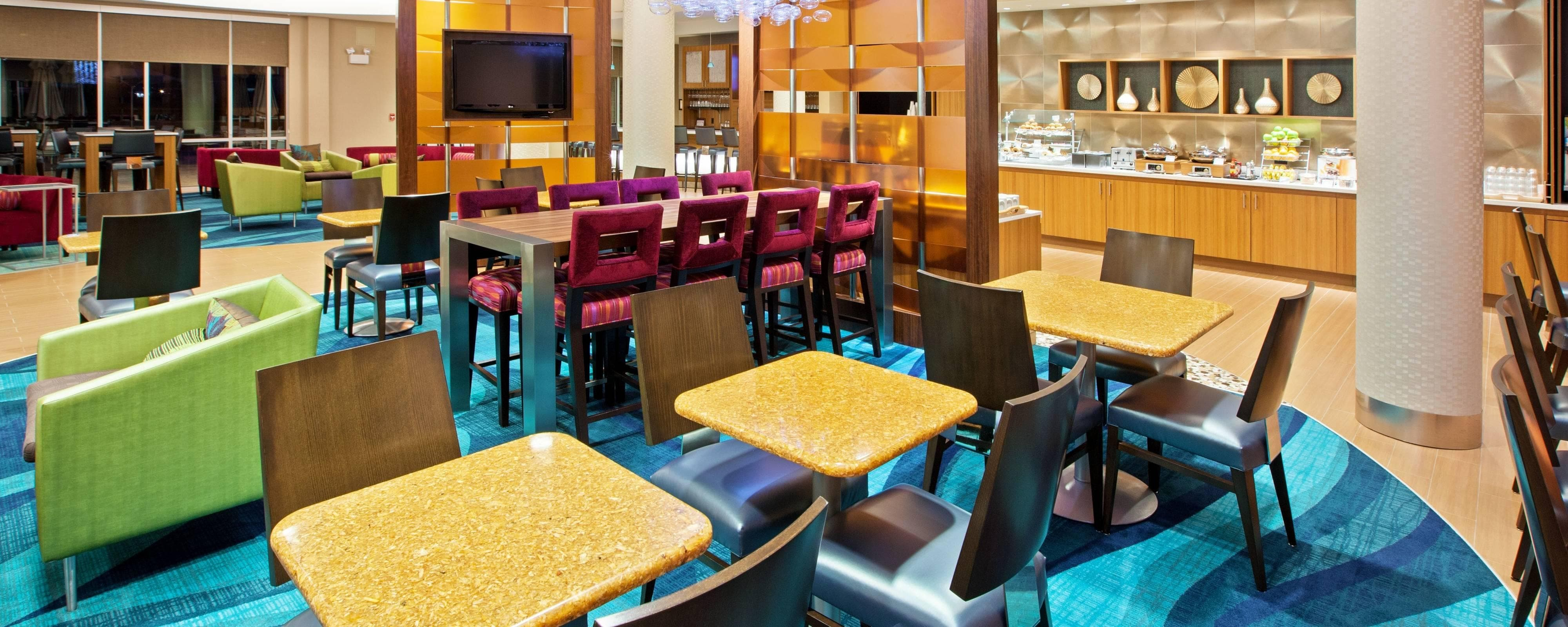 Hotel Dining Restaurants Springhill Suites Chattanooga
