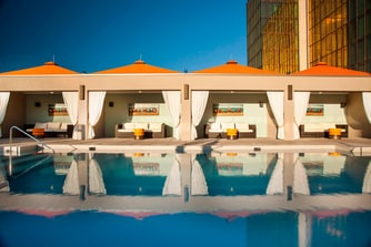 Outdoor Pool Cabanas