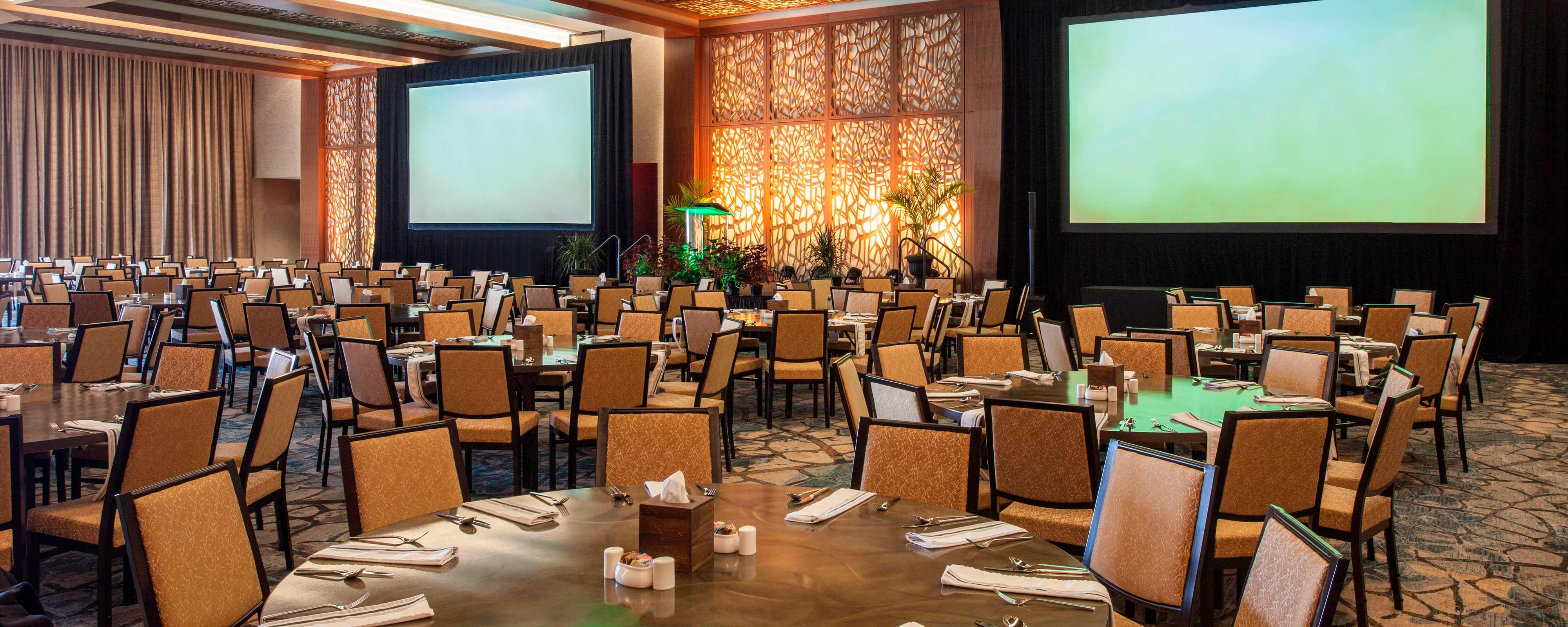 Portman Ballroom - Banquet of 10