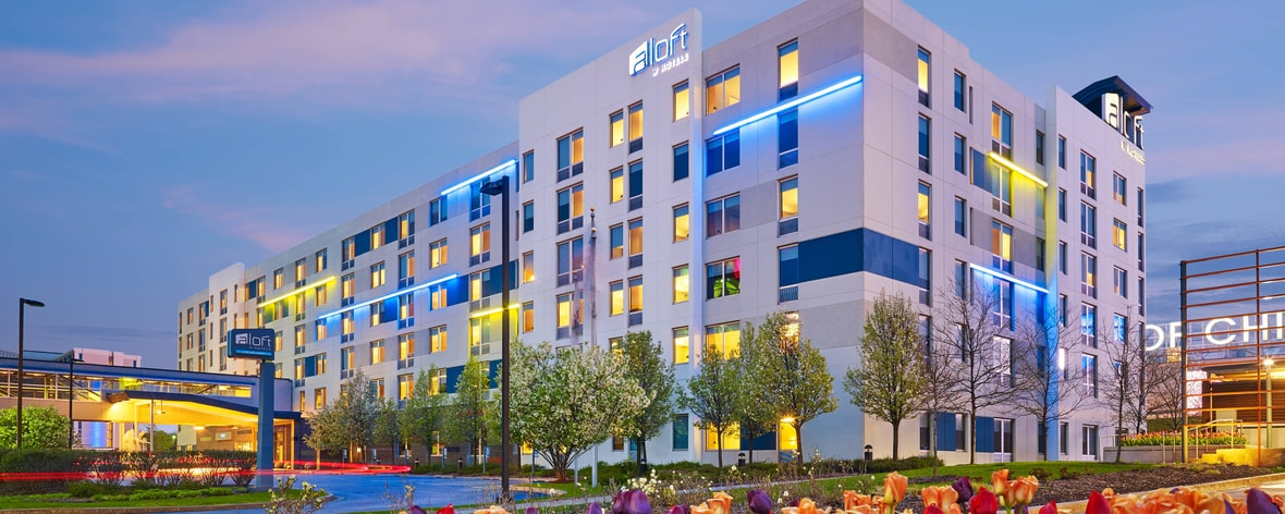 Chicago Airport Hotels >> Aloft Chicago O Hare Donald Stephens Convention Center Hotel