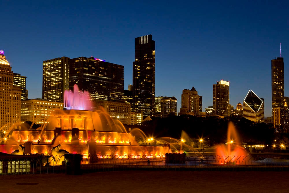 Fuentes en Chicago
