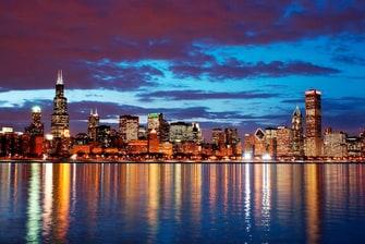 Centro de la ciudad de Chicago