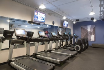 Hotel gym in Chicago