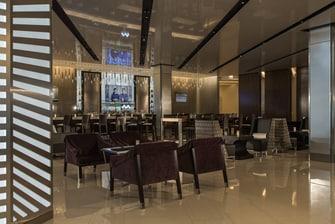 Lobby del hotel en el centro de Chicago
