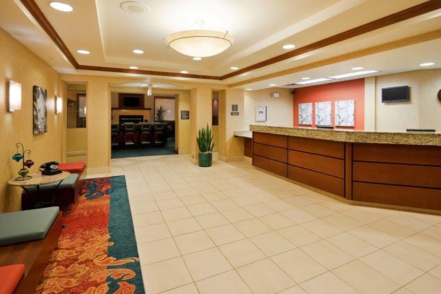 Front Desk Residence Inn