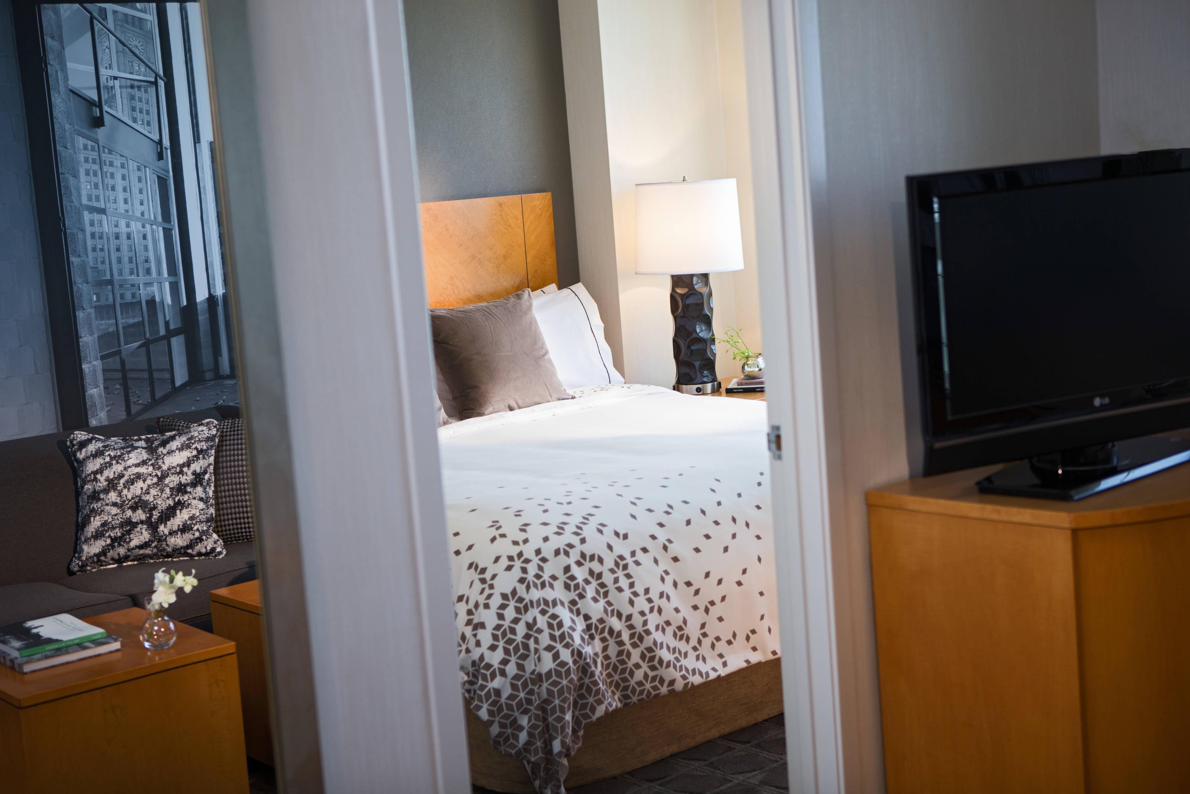 1ベッドルームスイート - 寝室エリア