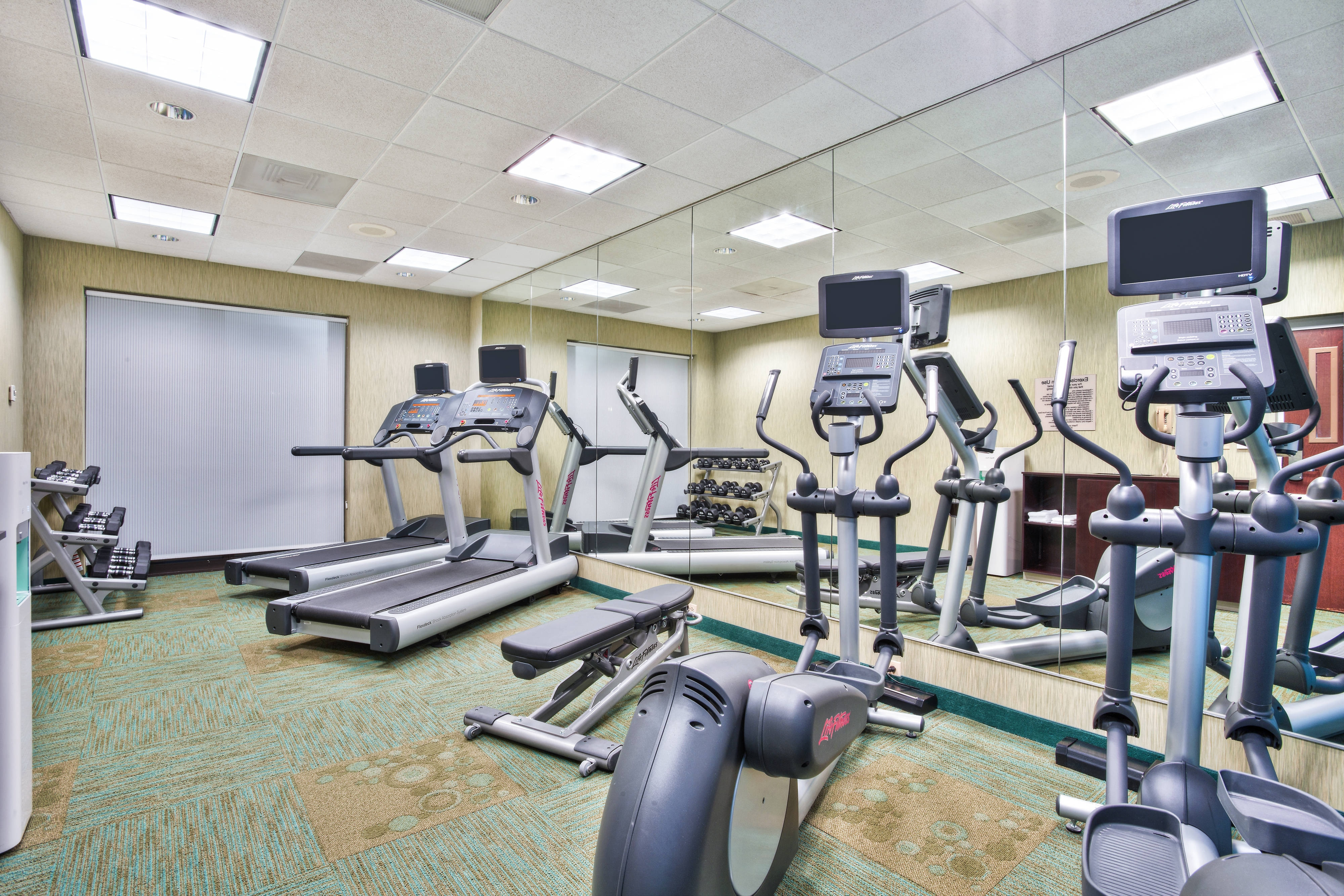 SpringHill Suites Chicago Southwest at Burr Ridge/Hinsdale Fitness Center