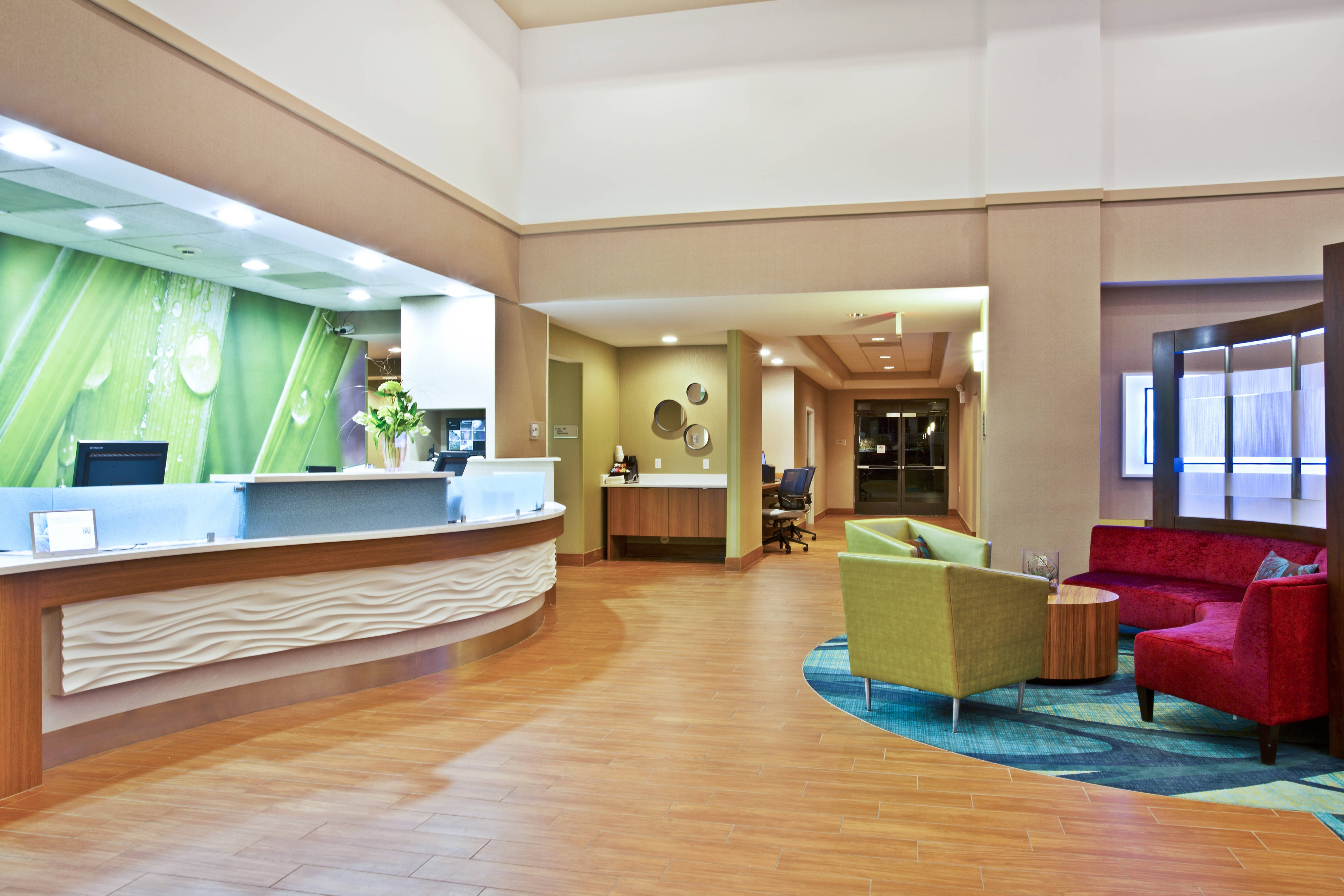 SpringHill Suites Chicago Southwest at Burr Ridge/Hinsdale Lobby