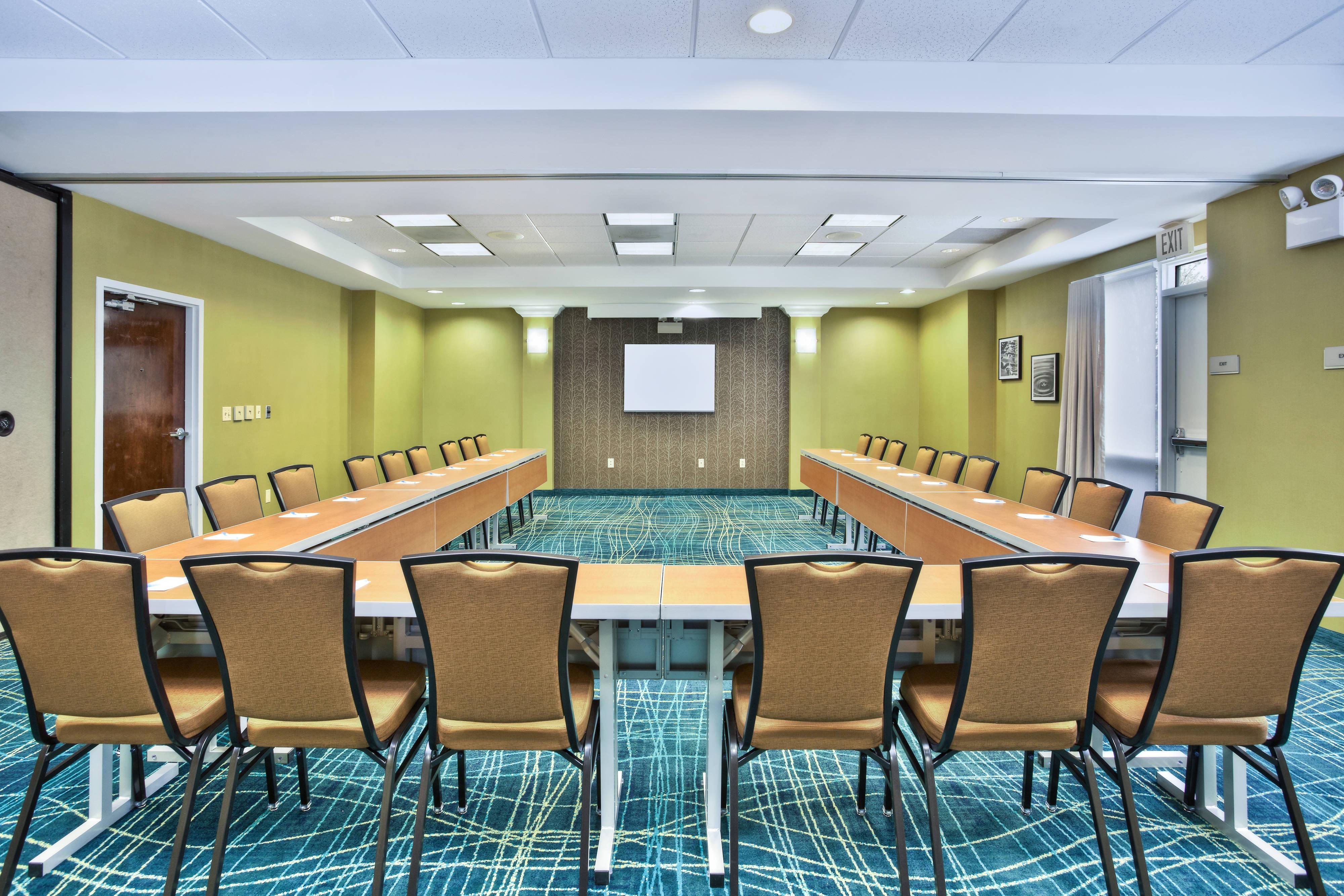 SpringHill Suites Chicago Southwest at Burr Ridge/Hinsdale Meeting Room U-shape Setup