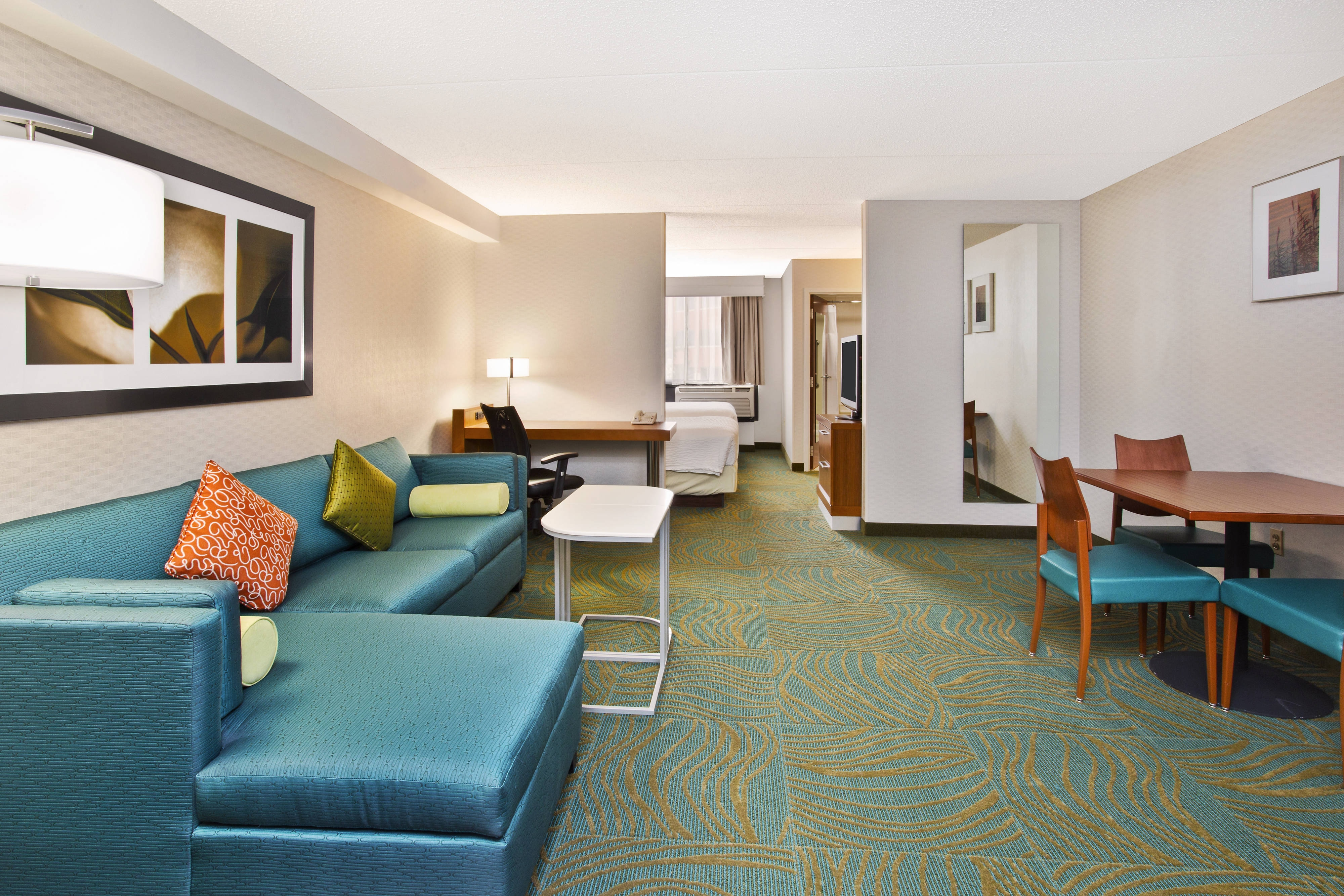 Executive Double/Double Studio Suite SpringHill Suites Chicago Southwest at Burr Ridge/Hinsdale