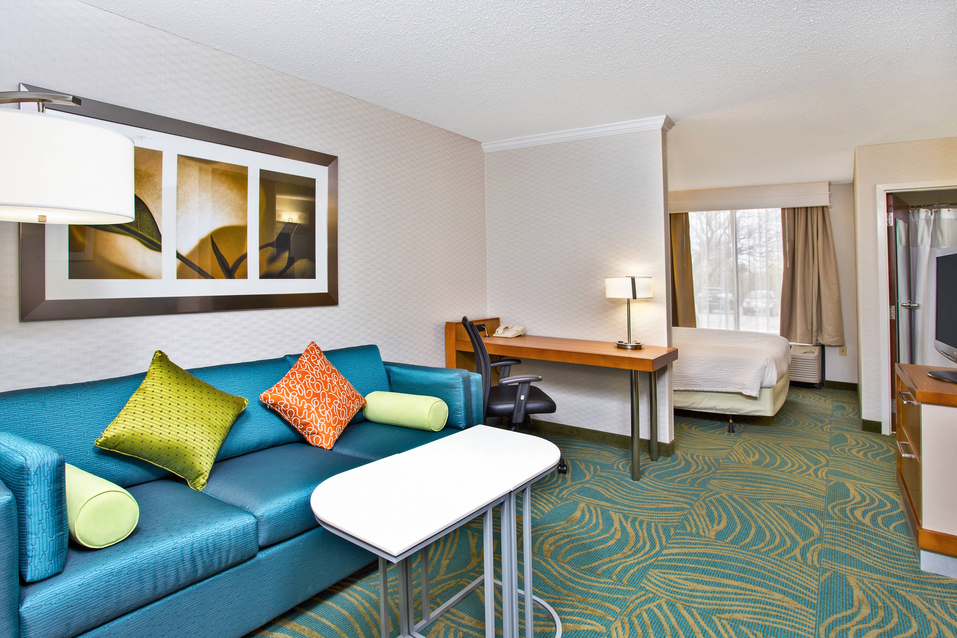 Executive King Studio Suite SpringHill Suites Chicago Southwest at Burr Ridge/Hinsdale