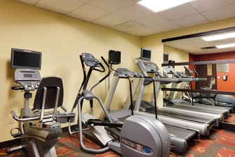 Hammond IN Hotel Gym