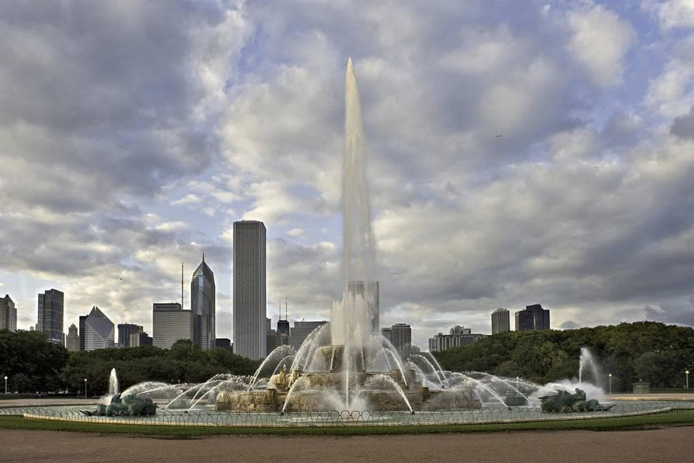 Hotel near Buckingham Fountain