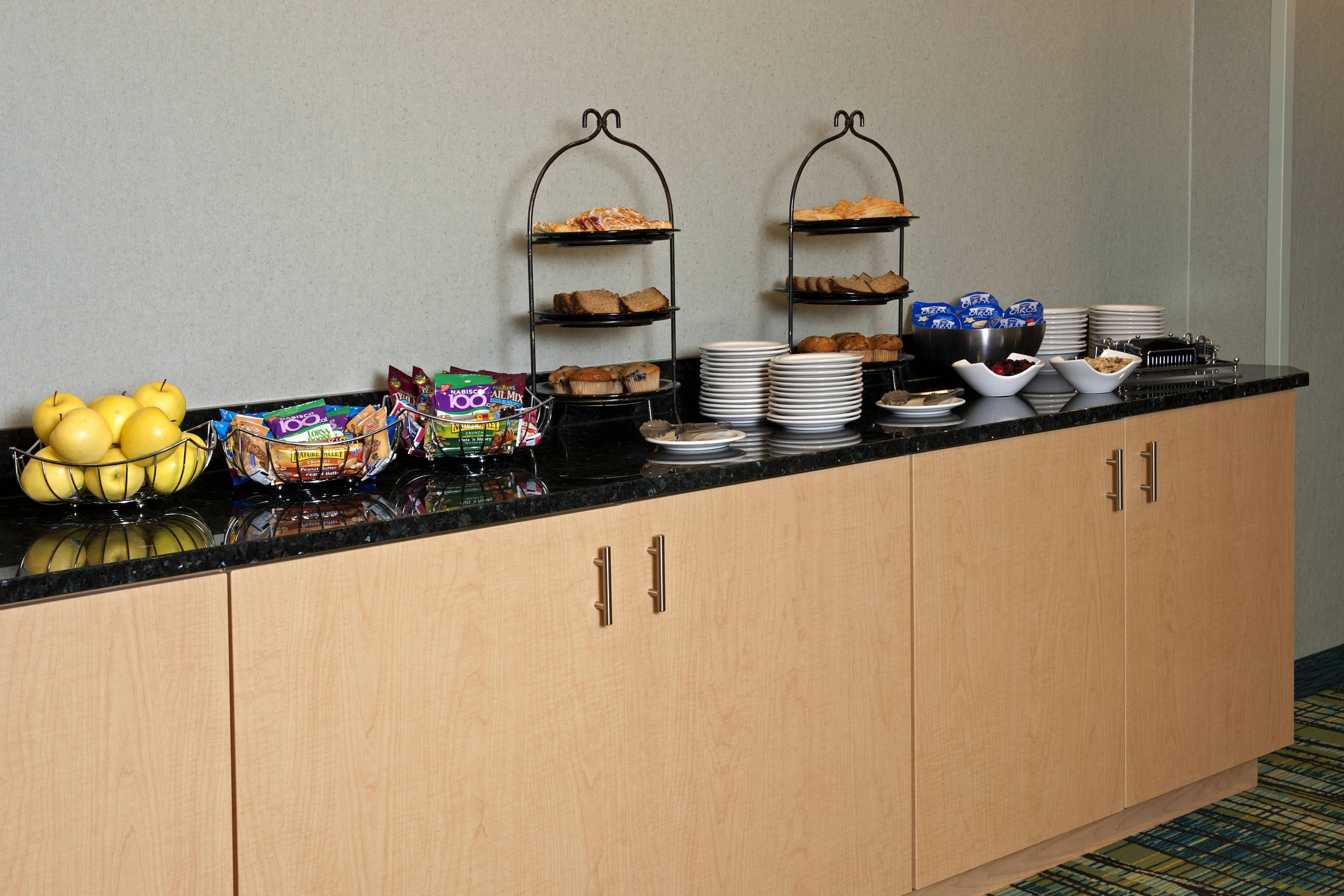 Catering del Springhill Suites Chicago O'Hare