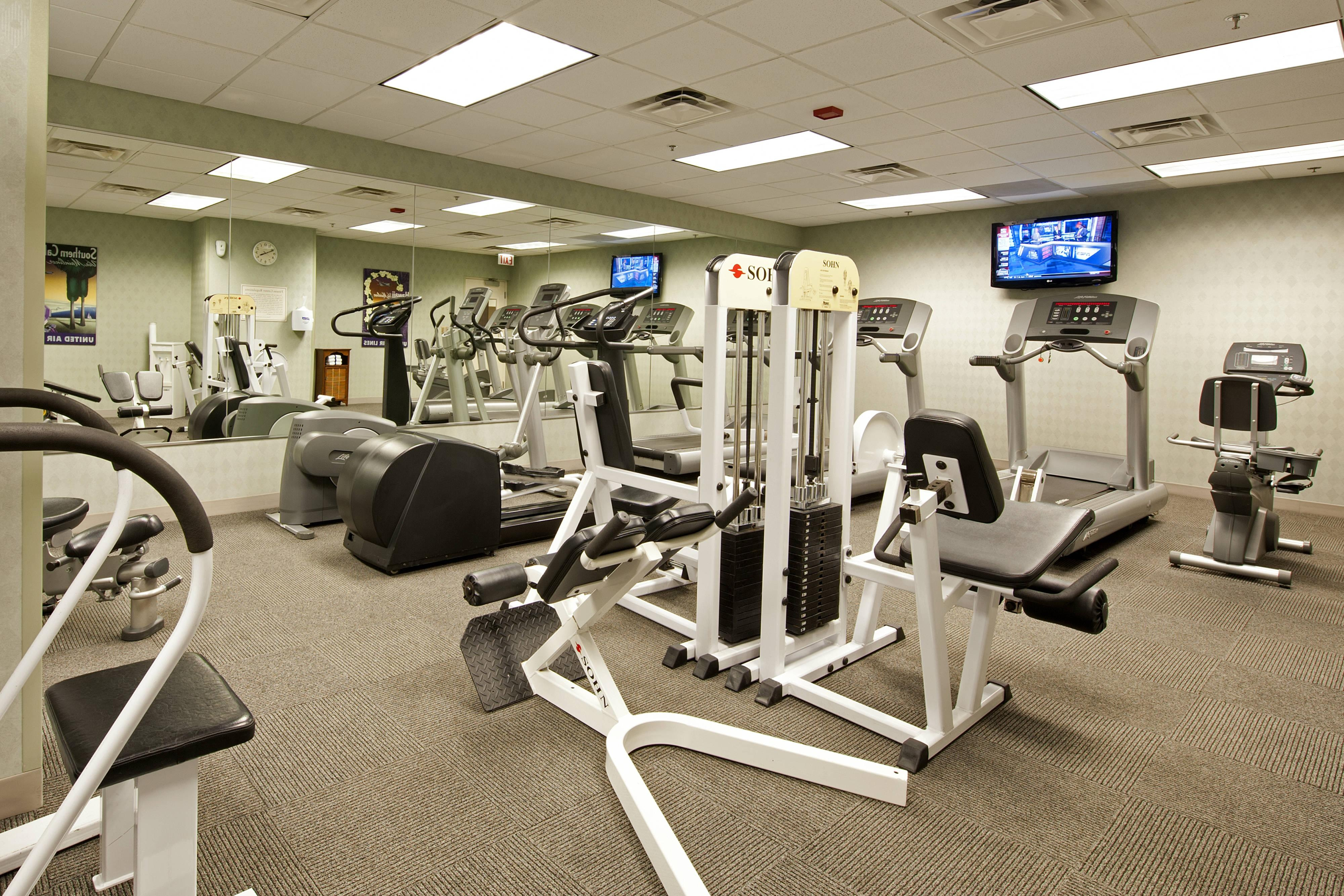 Gimnasio del Springhill Suites Chicago O'Hare
