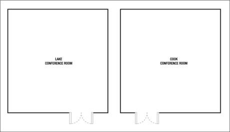 Deerfield Meeting Room Floor Plan0