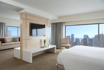 Downtown Chicago Hotel Suite