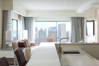 Chicago Luxury Hotel Room
