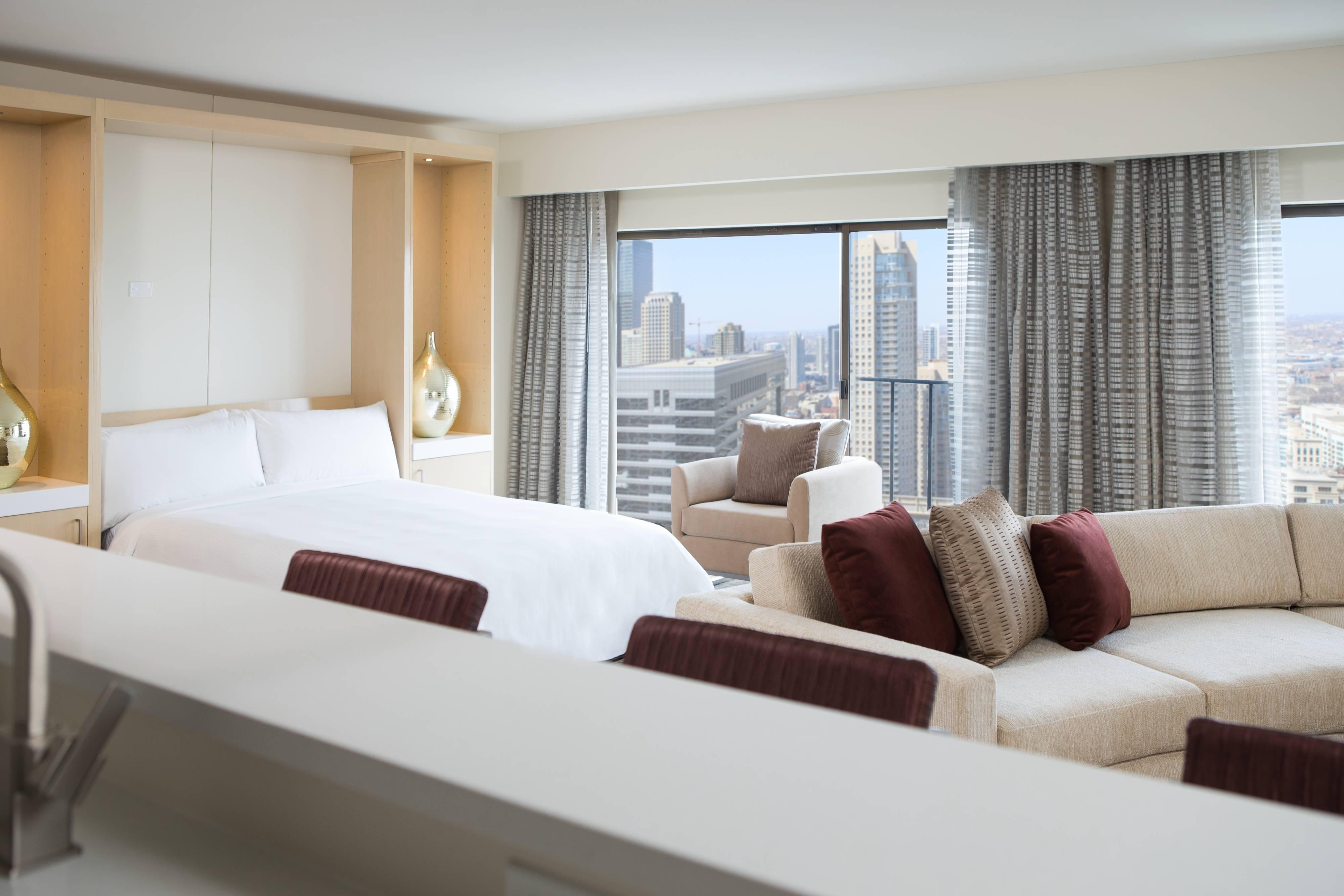 Chicago Hotel Room