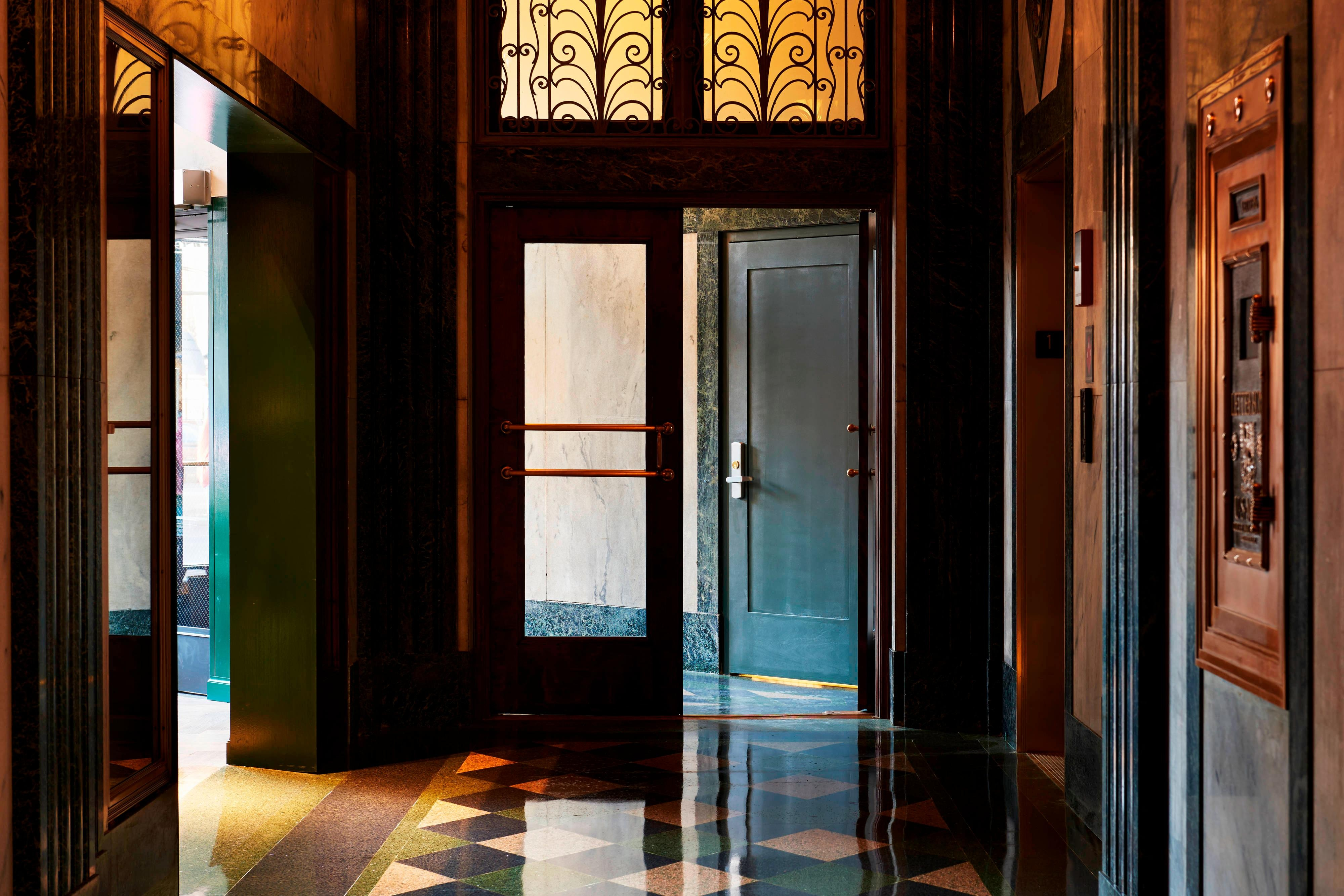 View Hotel Entrance