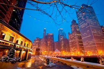 Hotel en el centro de Chicago