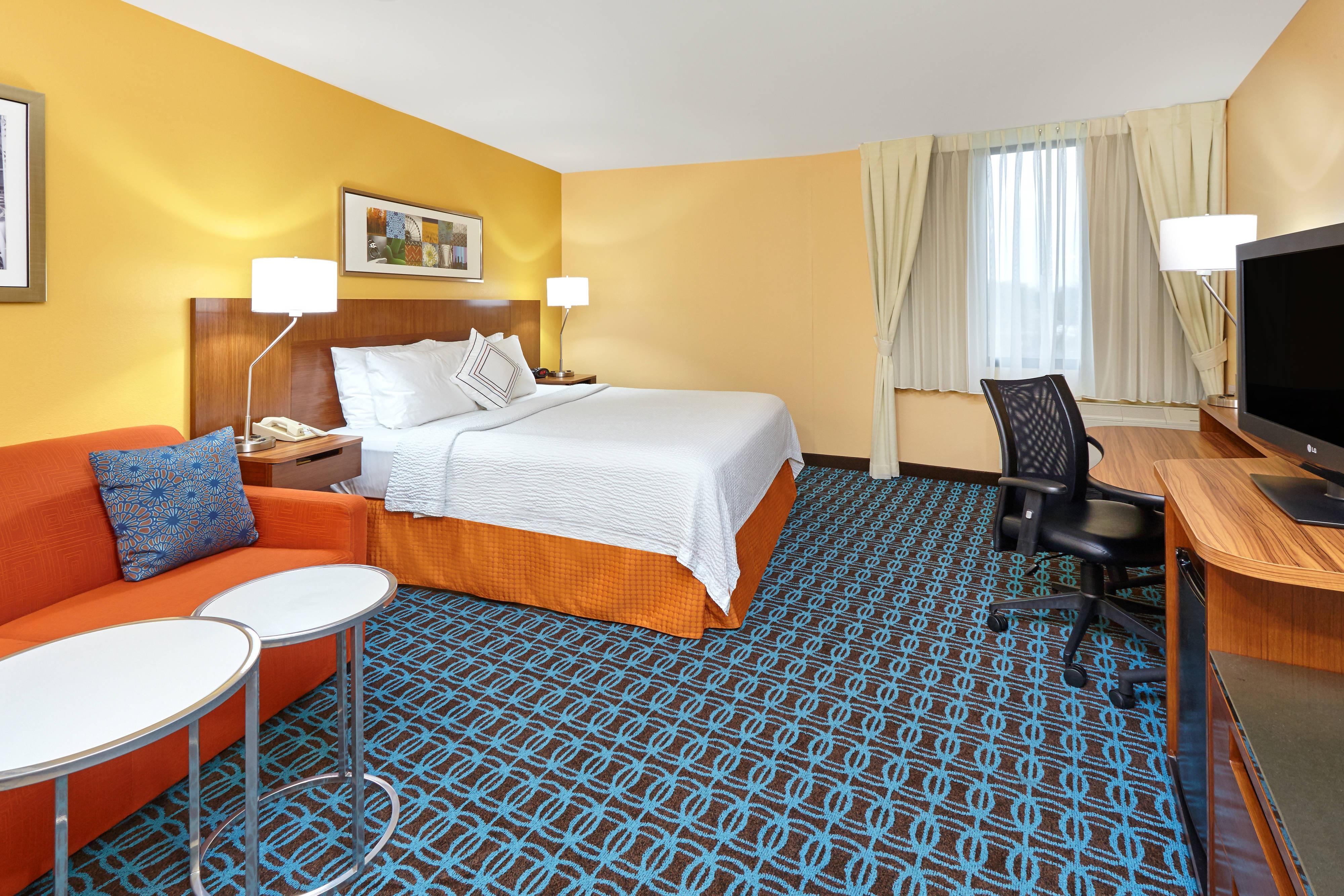 Chambre avec lit king size