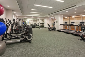 Gimnasio del hotel Fairfield Inn & Suites Chicago Downtown/River North