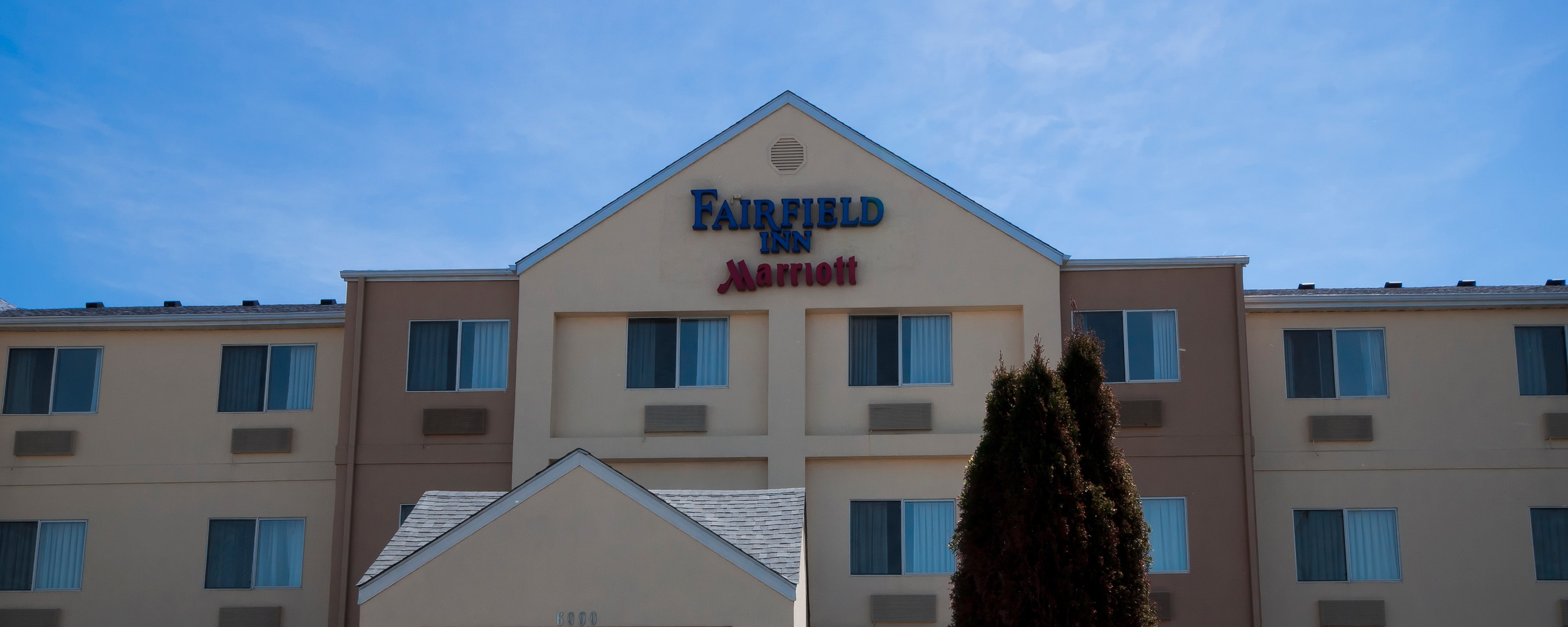 Fachada del hotel Fairfield Inn Chicago Gurnee, Illinois