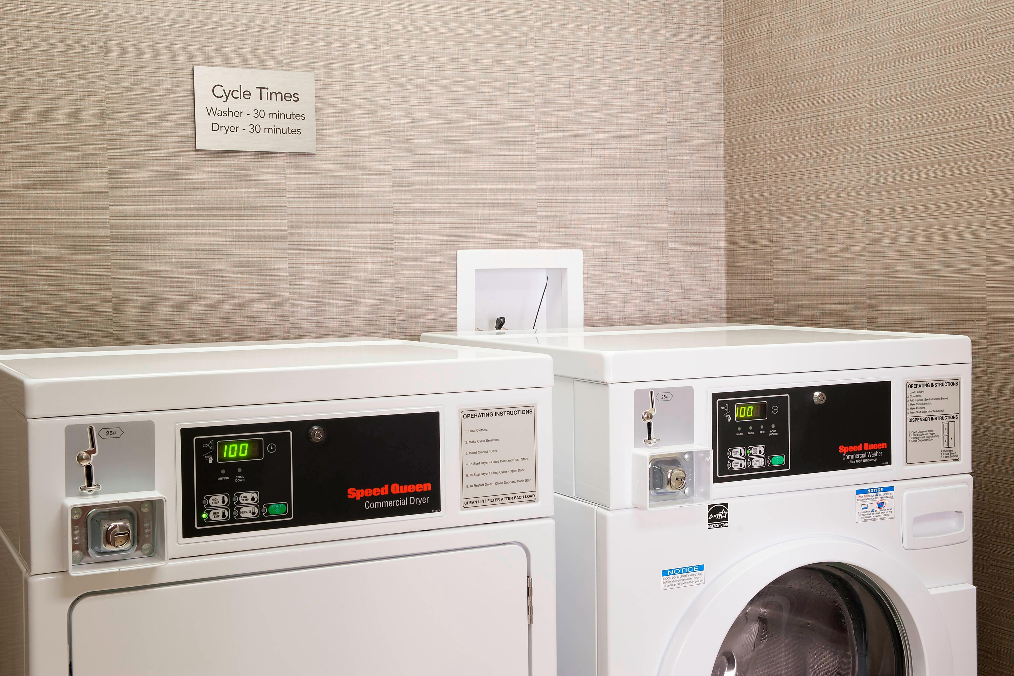Guest Laundry Facility