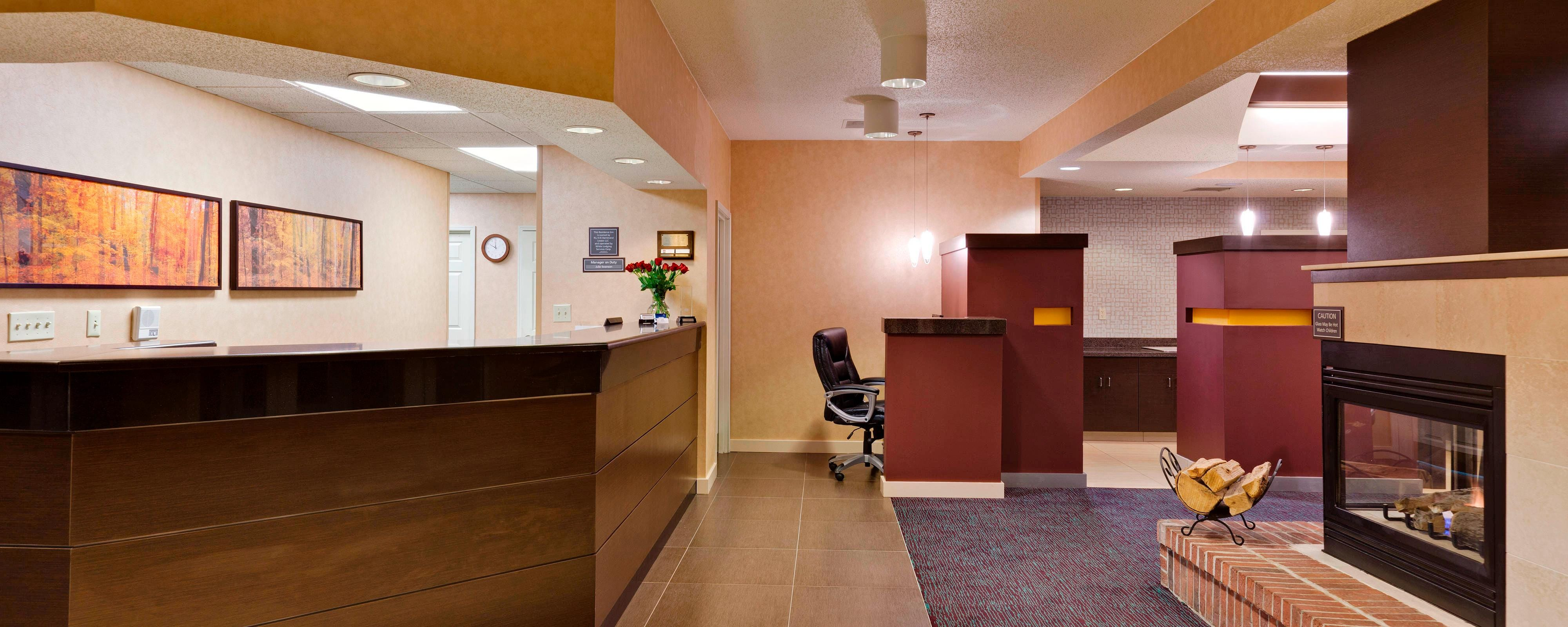 Front Desk Residence Inn Hammond