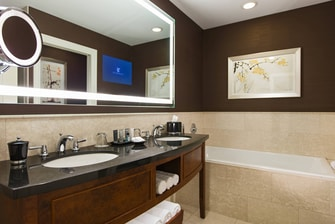 Chicago Hotel Bathroom